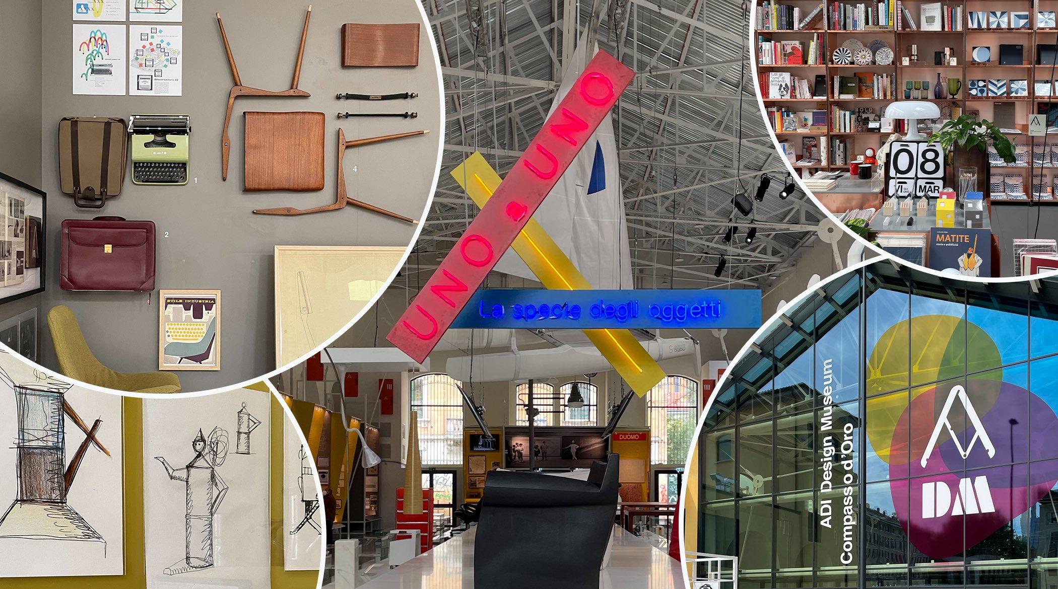 ADI Museum, Compasso d'Oro; Milano; design