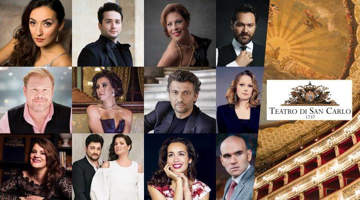 Teatro San Carlo 2122; Napoli; Opera; Anna Netrebko; Jonas Kaufmann; Nadine Sierra; Lisette Oropesa;