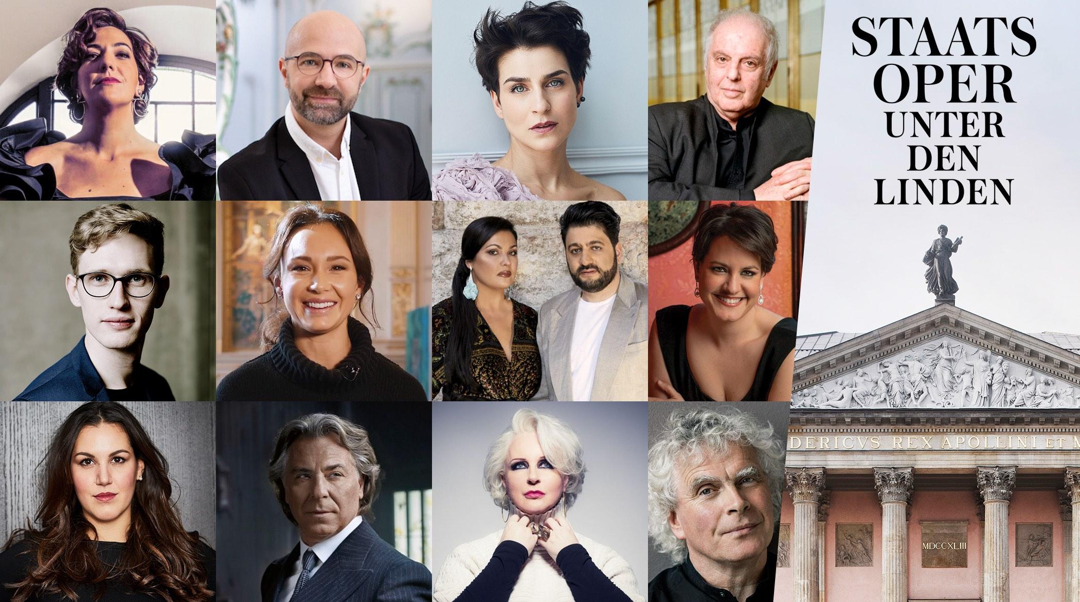 staatsoper Berlino 21/22; opera Lirica; Staatsoper Unter den Linden Berlin; Daniel Barenboim; Anna Netrebko