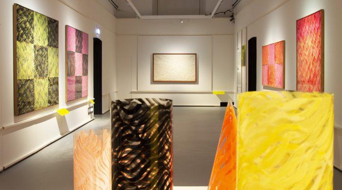 ph. Roberto Pini - Allestimento mostra Carla Accardi Contesti al Museo del Novecento di Milano AccardiMilano Accardi Milano