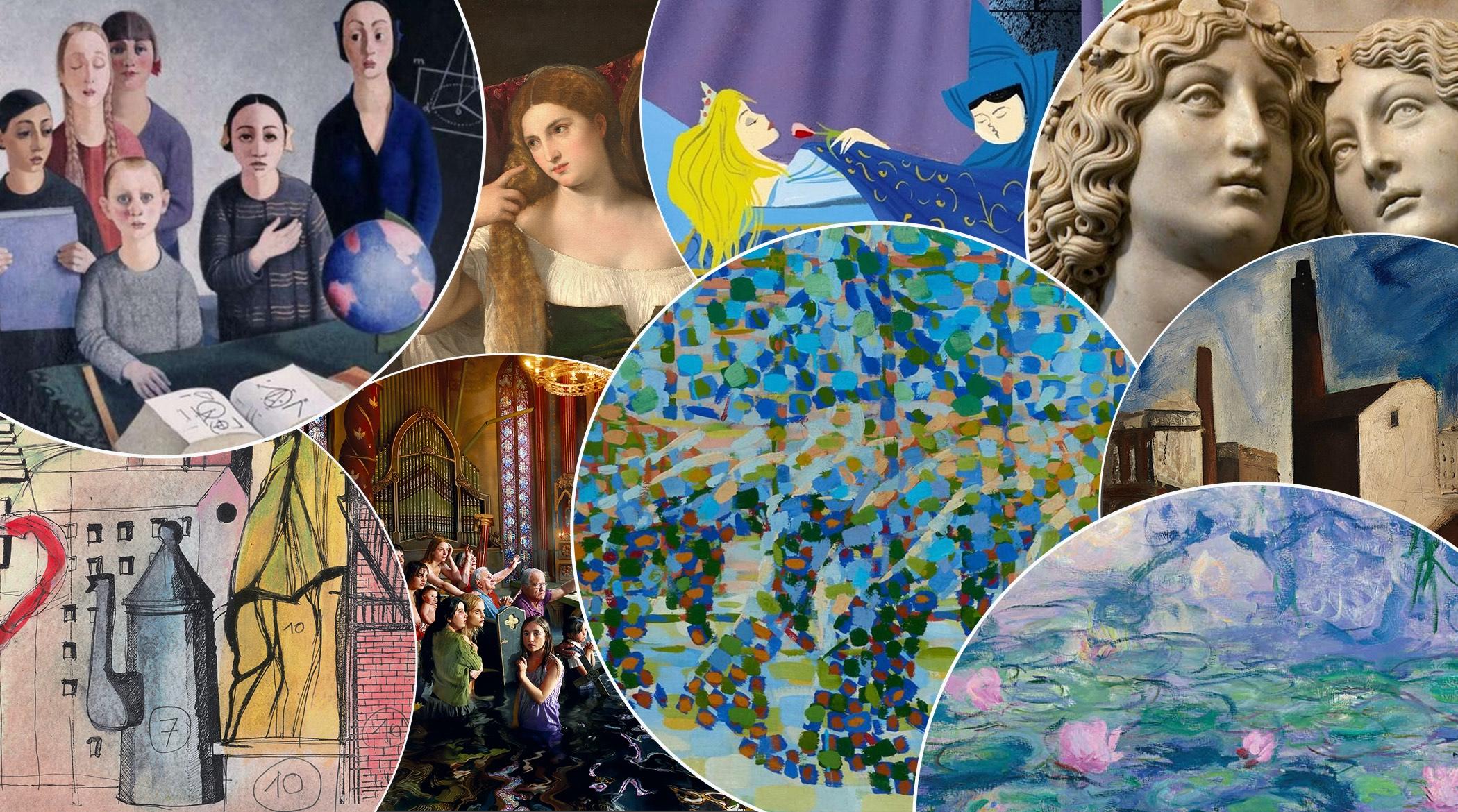 Mostre Milano, 21/22; Palazzo Reale; MUDEC; Museo del Novecento; GAM; Castello Sforzesco