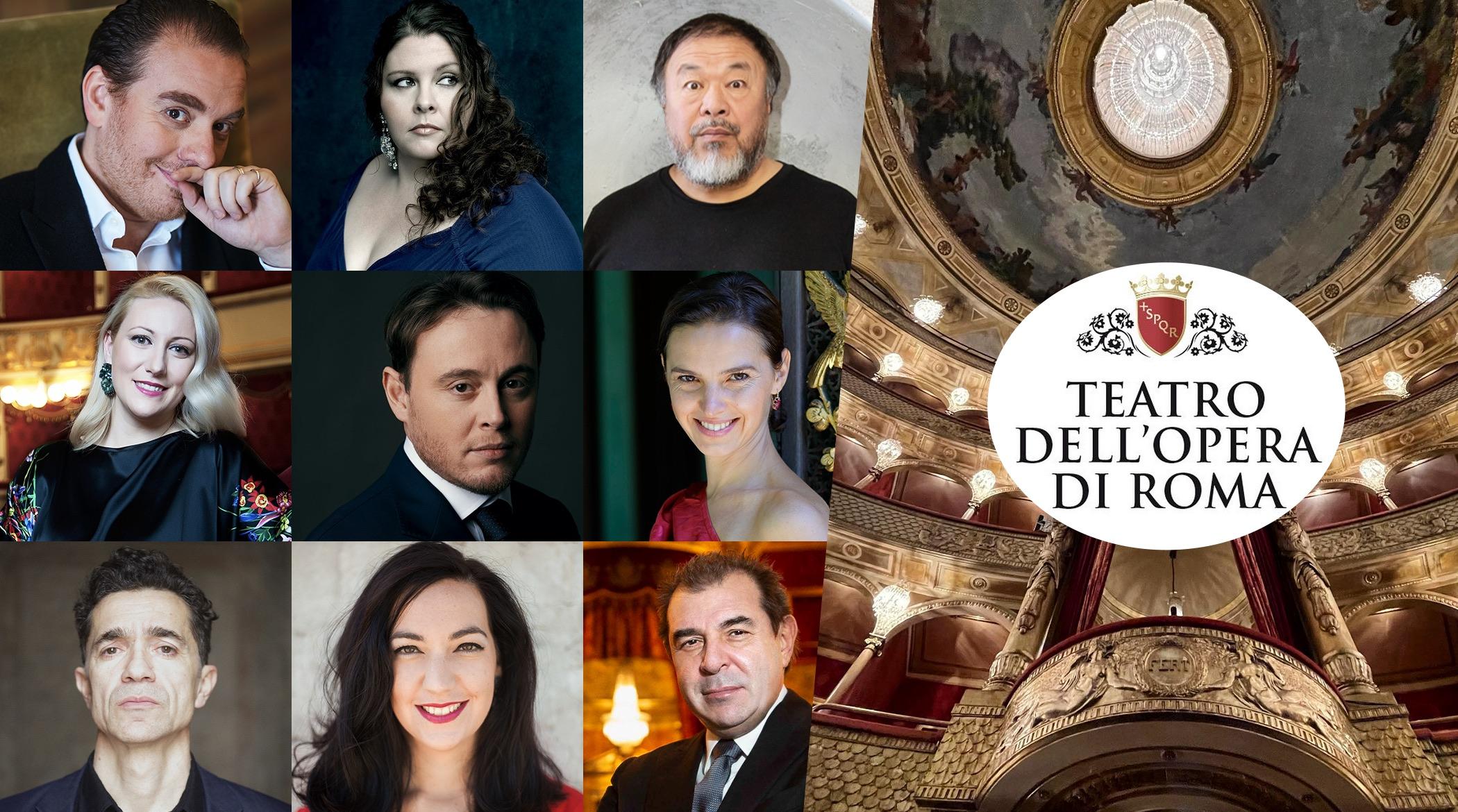 OperaRomaTeatro dell'Opera di Roma; 2021/2022; Michele Mariotti; Daniele Gatti; Ai Weiwei; 21/22