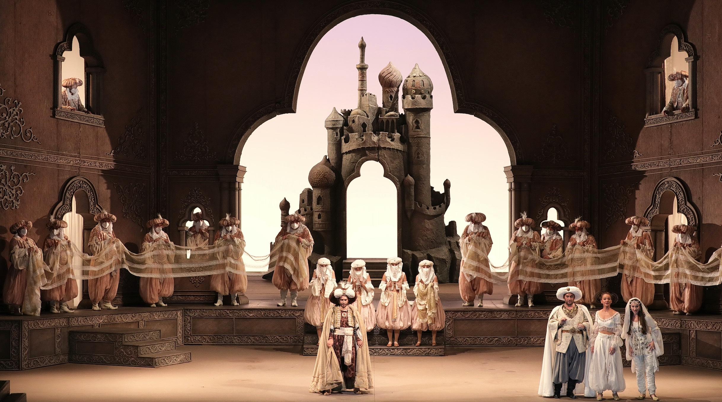 L'Italian in Algeri; Rossini; Scala; Milano; Ponnelle; Dantone
