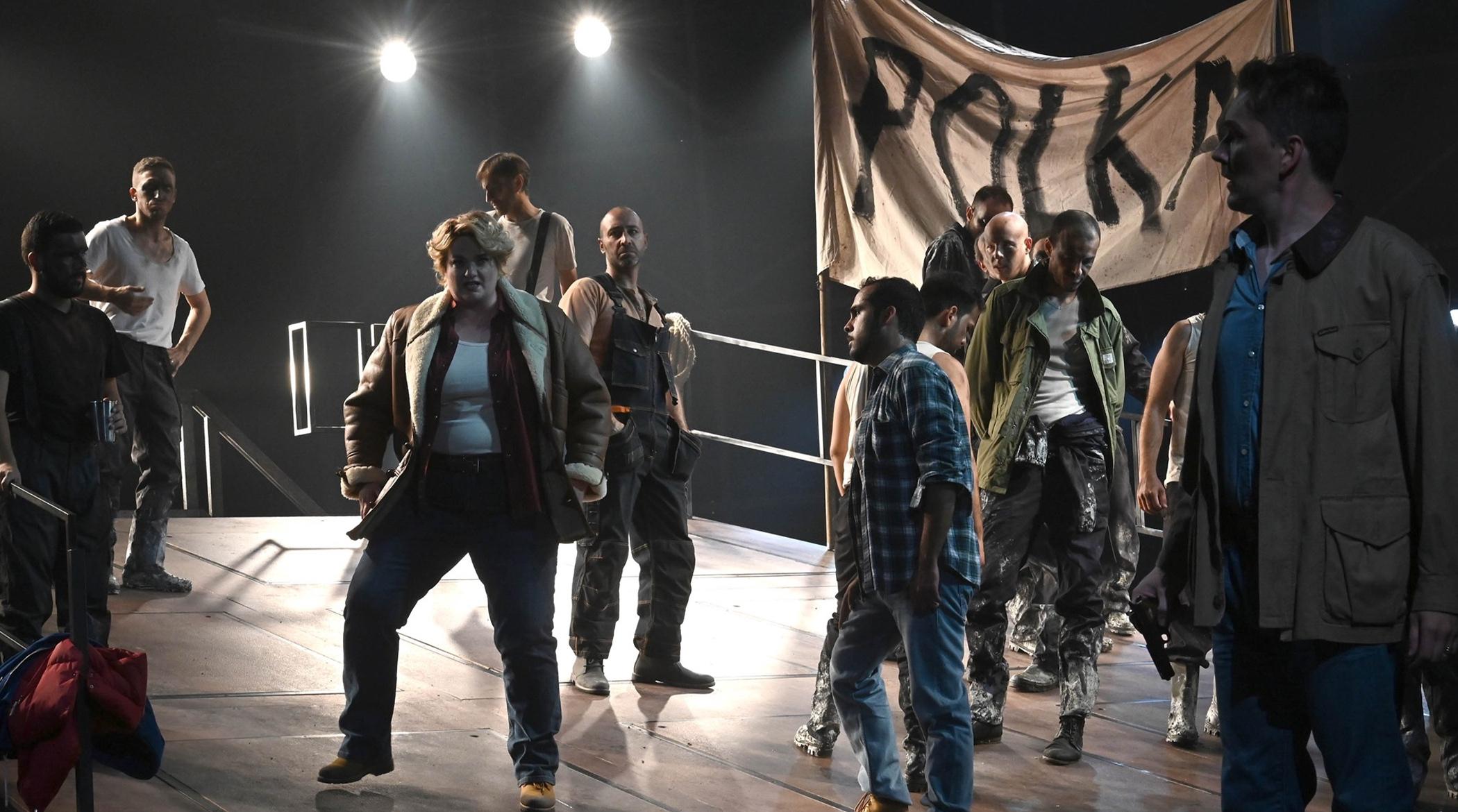 Fanciulla del west; Teatro Grande; Brescia; Andrea Cigni; OperaLombardia; Rebeka Lokar; Umbert Favretto; Devid Cecconi
