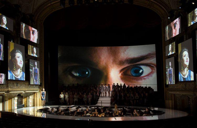 Opernhaus Zurich; Incoronazione di Poppea; Monteverdi; Dantone; Calixto Bieito; Zurigo